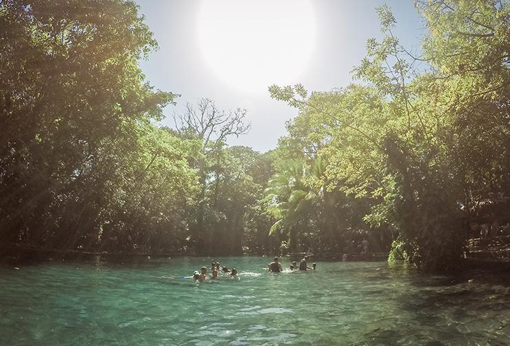 Nicaragua Ojo de Agua Ometepe