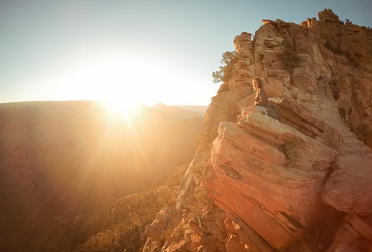 Grand Canyon Zonsopgang