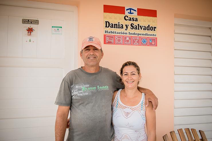 Casa Dania y Salvador Vinales