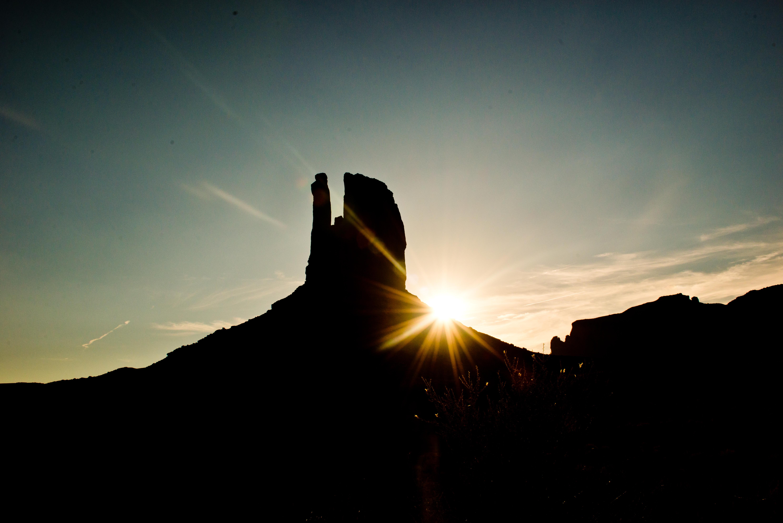 West Mitten Butte Sunlight