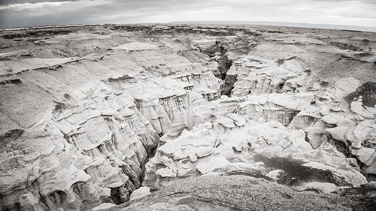 Bisti Badlands Canyon