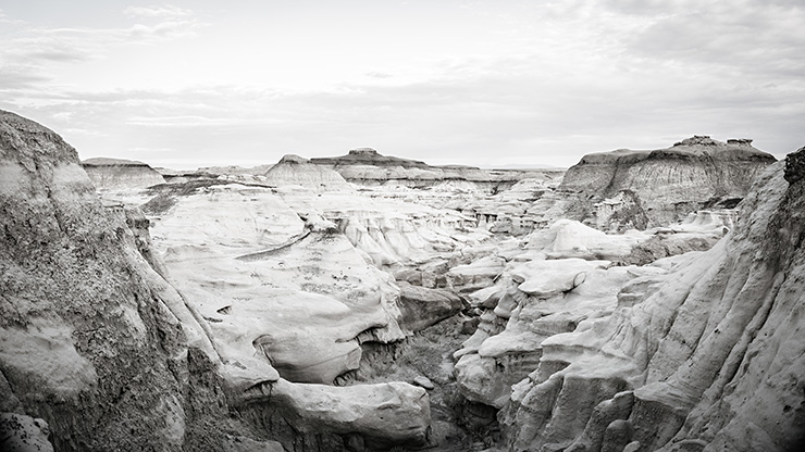 Bisti Badlands Canyon