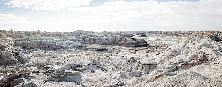 Bisti Badlands panorama