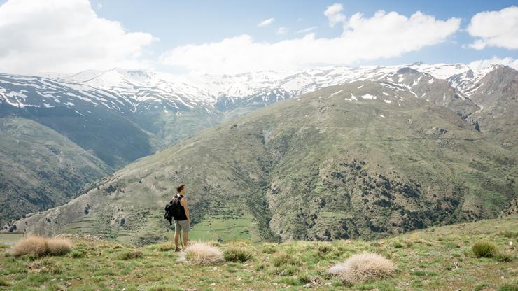 Andalusie Sierra Nevada Spanje