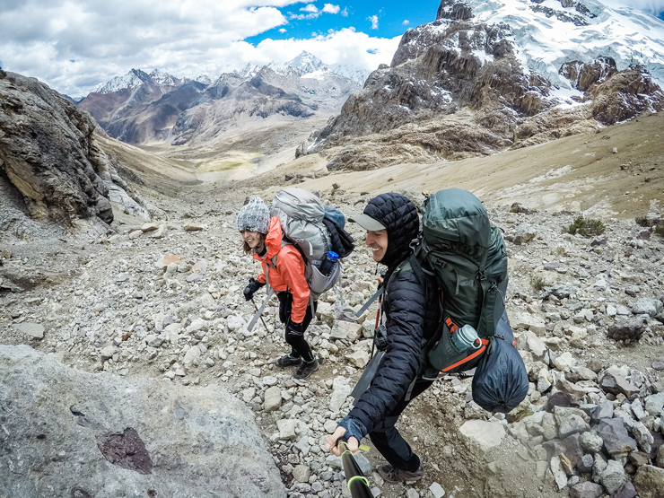 Huayhuash circuito backpacking