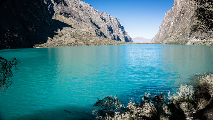 Peru Huaraz Laguna 69 Stop Laguna Llanganuco