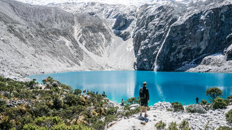 Peru Huaraz Laguna 69 uitzicht