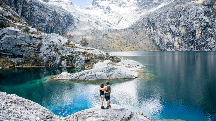 Laguna Churup best day hike in Huaraz