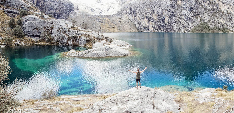 Laguna Churup best day hike in Cordillera Blanca (Huaraz, Peru)